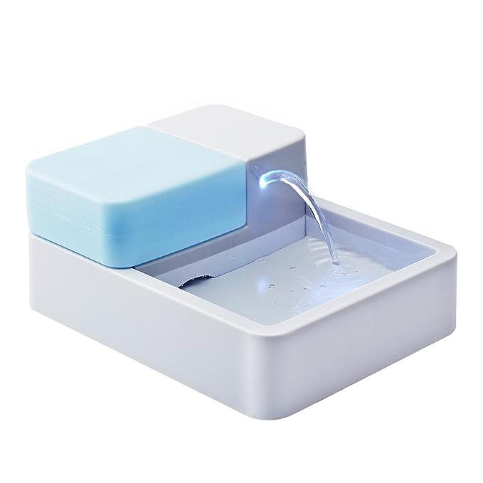Lonlier Dispensador Automatico de Agua para Mascotas Alimentador Eléctrico para Perros, Gatos: Amazon.es: Ropa y accesorios
