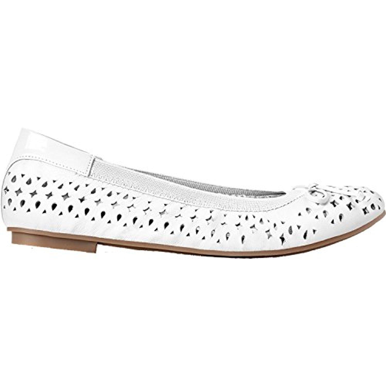 Vionic Damens's 11 Surin Ballet Flat Weiß 11 Damens's W 4f5391