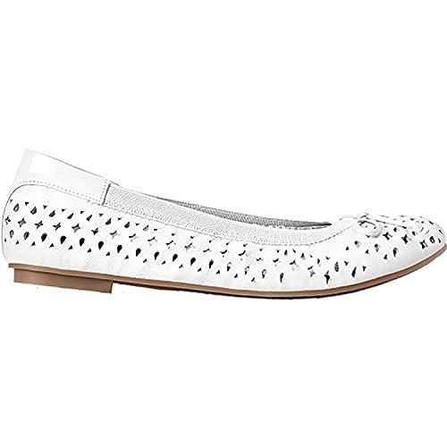 35f6b87918d6b Vionic Women's Surin Ballet Flats in White: Amazon.ca: Shoes & Handbags