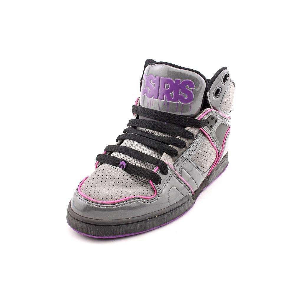 Osiris Womens NYC 83 SLM Skate Shoe, Charcoal/Grey/Purple, 9
