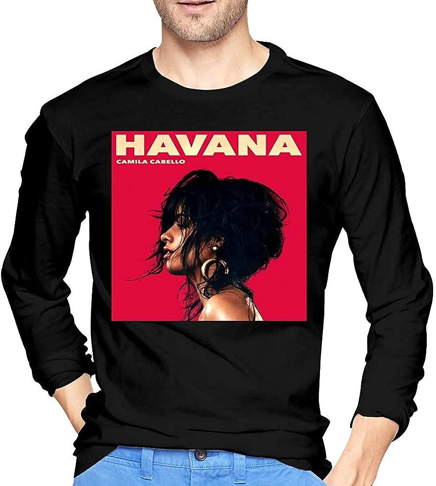Thimd Camila Cabello Hombre s Comfort Soft Camiseta de Manga ...