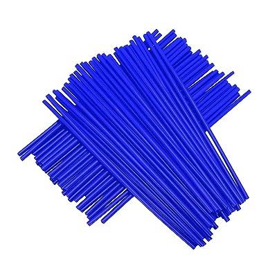 """72 Pcs Blue Plastic Spoke Guard Wrap Covers Spoked Wheels For 19""""-21"""" rims YAMAHA YZ125 YZ250F YZ450F WR250F DT230 TC125 TC250 WR125 FE250 Pit Dirt Bike: Automotive"""