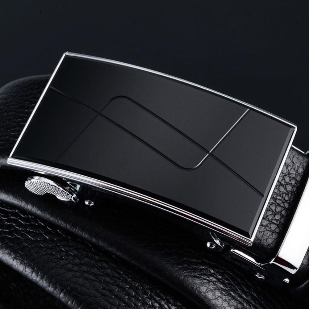 Mens Belt Business Automatic Buckle Long Plus Size Middle Age Belt