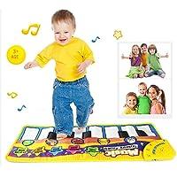 Teepao Cartoon Baby Musical piano, tappetino gioco del bambino prima infanzia educazione tappetini Kids tastiera tappetino gioco Dance and learn Portable Toys