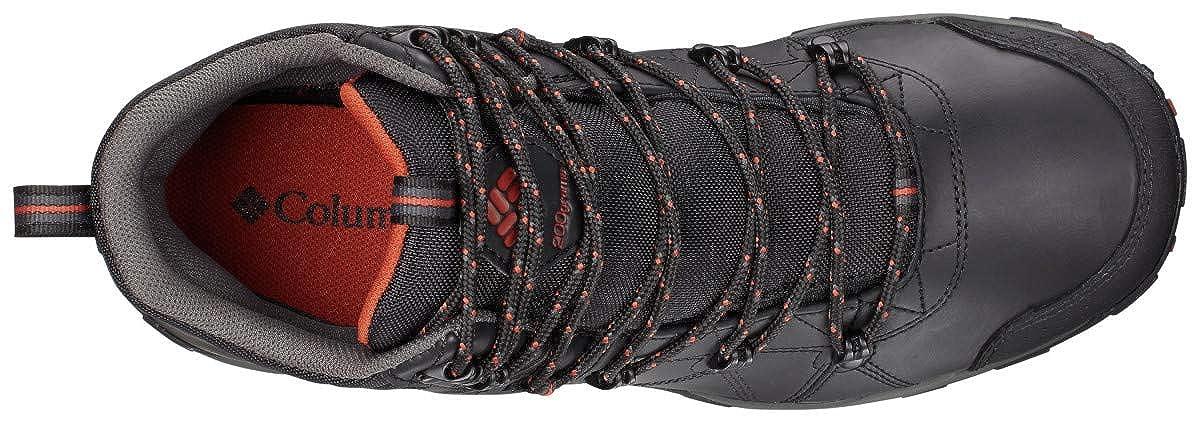 Columbia Mens Peakfreak Venture Mid Omni-Heat Waterproof Wide Hiking Boot