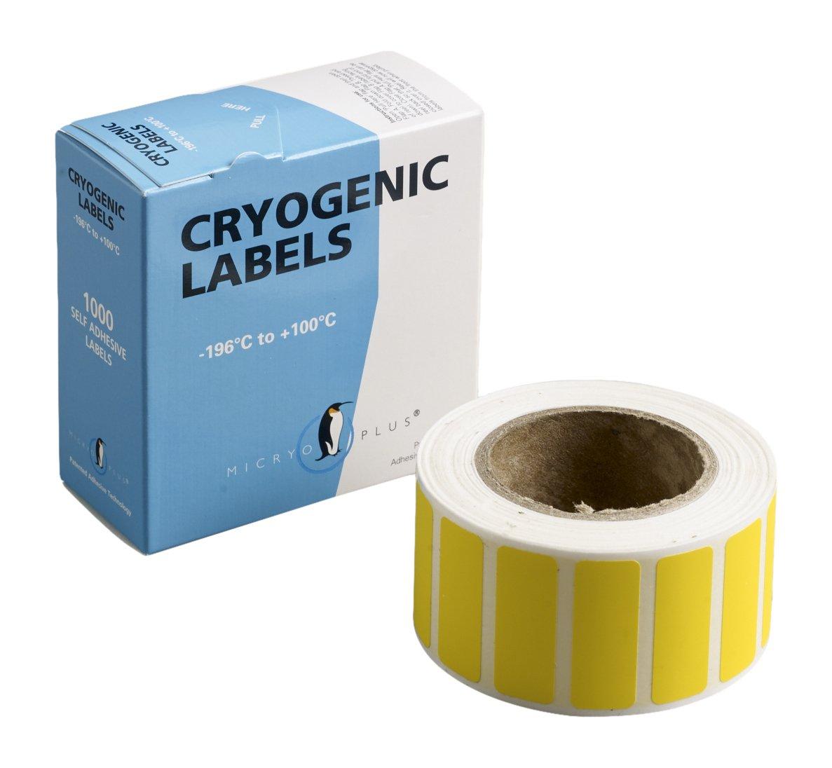 Camlab Plastics RTP/177 Tubee's Strips, 33 x 13 mm, Reel, Micryo Yellow (Pack of 1000) 1146442
