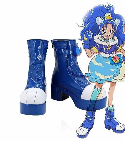 KiraKira Pretty Cure A La Mode Cure Gelato Tategami Aoi Cosplay Shoes Boots Custom Made
