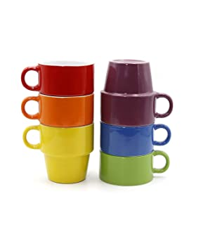 Gypsy Color 12 OZ Cappuccino Cups