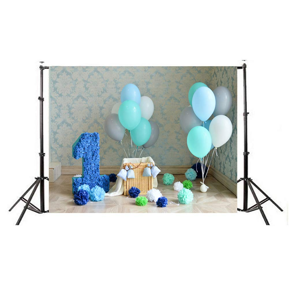 Yinpinxinmao 3D クリスマス 風船 背景布 写真スタジオ 写真撮影用背景 小道具 誕生日パーティー 子供用 60cm x 90cm 938G2814L4UT6KT 60cm x 90cm  B07JFT2D27