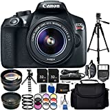 Canon EOS T6 with EF-S 18-55mm f/3.5-5.6 IS II Lens 18PC Accessory Bundle – Includes 72 Tripod + 2 32GB SD Memory Card + Digital Slave Flash + Remote Shutter Release + MORE