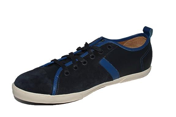 PAUL AND JOE - Baskets - Homme - Baskets en suede bleu marine Skinny   Amazon.fr  Chaussures et Sacs feed254bf9eb