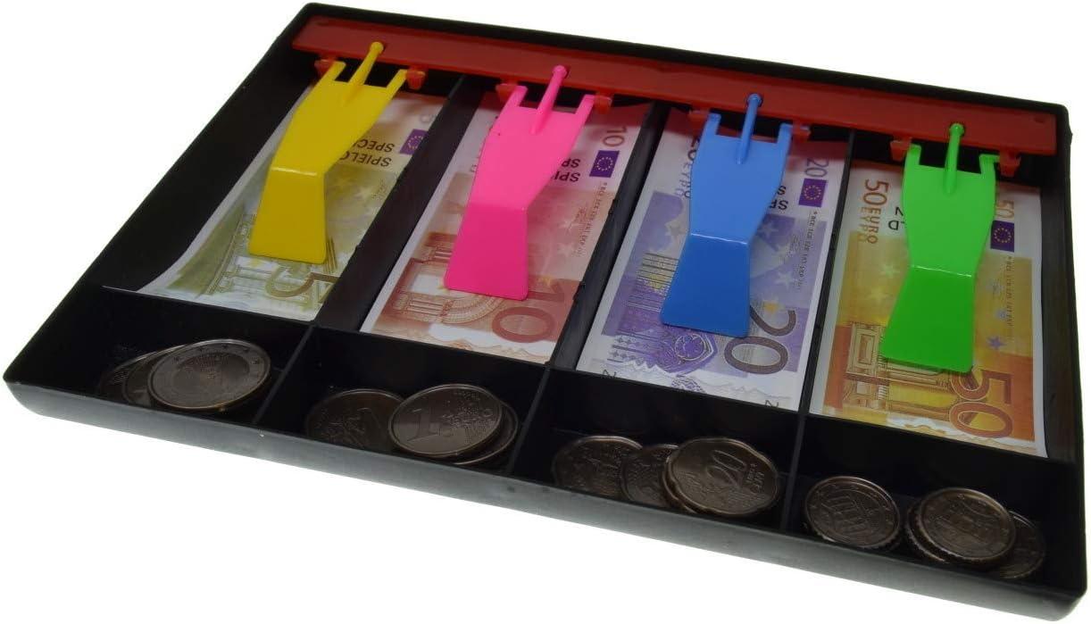 VENTURA TRADING Euro Dinero de Juego Juego de Dinero de Juguete Juego de ense/ñanza de Dinero Juego en Efectivo