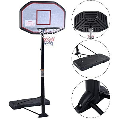 Movement God Pro Court Height-Adjustable Portable Basketball System