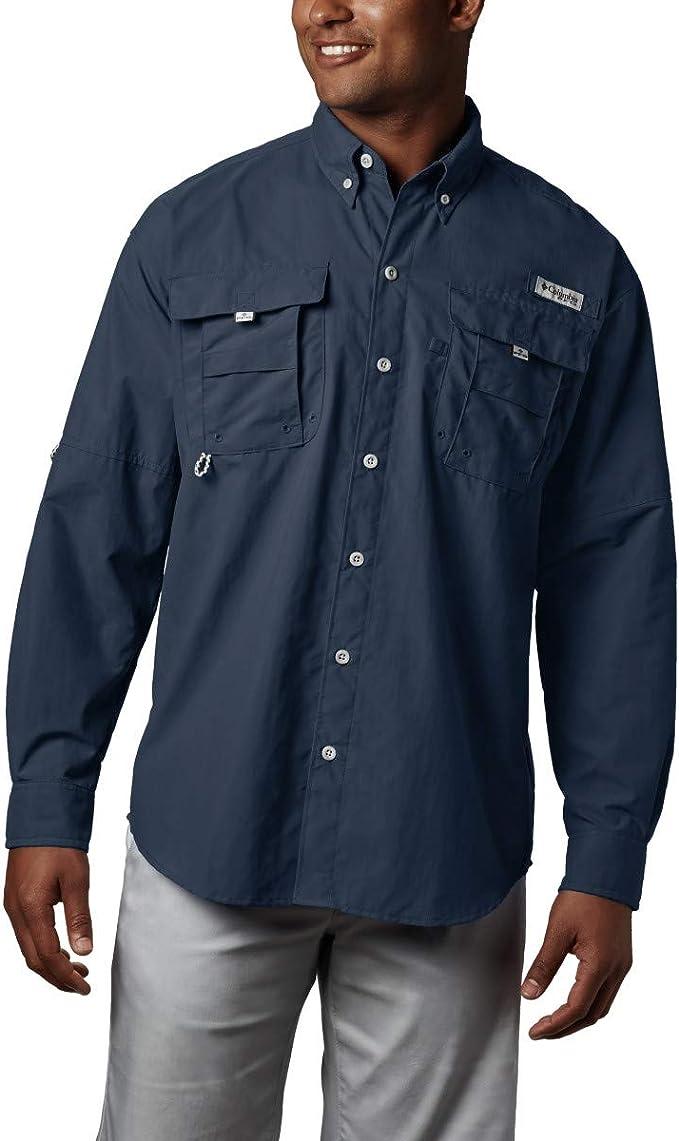 Columbia Men's PFG Bahama II Long Sleeve Shirt best men's fishing shirt