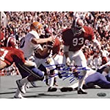 NCAA Marty Lyons Alabama Action Vs Florida Autographed 8-by-10-Inch Photograph