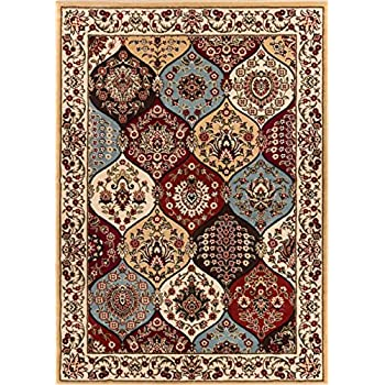Amazon Com Traditional Area Rug Scatter 2x3 Multi Color