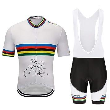 Tira de Color Blanco Bicicleta Hombres y Mujeres Ropa Speed ...