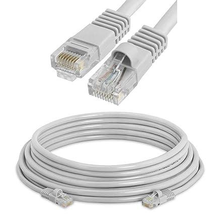 Amazon com: NiceTQ 10FT CAT5E RJ45 Ethernet Network Cable