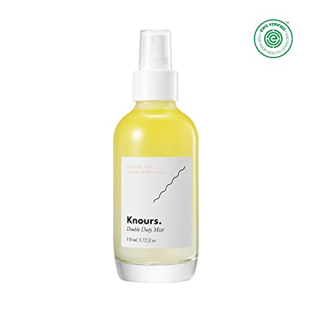 Knours. – Double Duty Mist Hormonal Skincare For Women Soothing Nourishing Facial Mist EWG Verified Natural Ingredients Clean Beauty 110 ml 3.72 fl oz.