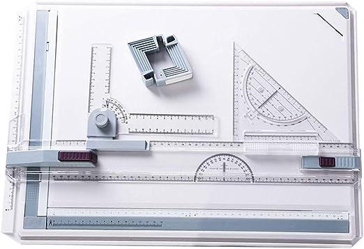 Fanville Tablero de Dibujo A3 mesas de Dibujo con Sistema de ...