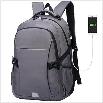 Beibao Mochila para portátil Mochilas para Viaje de Negocios Backpack con Puerto de Carga USB, con Puerto de Carga USB Gris: Amazon.es: Deportes y aire ...