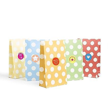 24 bolsas de regalo de papel kraft de alta calidad ...