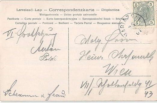 Mariazell Austria Scenic Bridge Real Photo Antique Postcard ...
