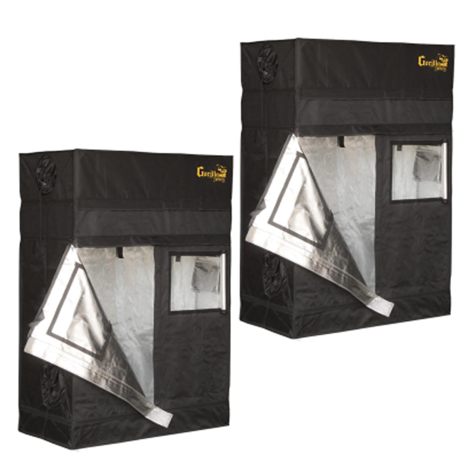 Gorilla Shorty 2' x 4' Grow Tent Hydroponic Greenhouse Garden, Pair | GGTSH24