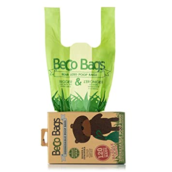 Bolsas ecológicas Beco Things para heces de Perro: Amazon.es ...