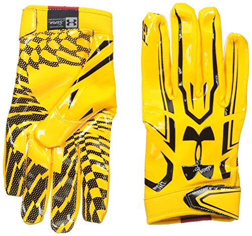 Under Armour F5 American Football Handschuhe - Steeltown Gold 750 (Small)