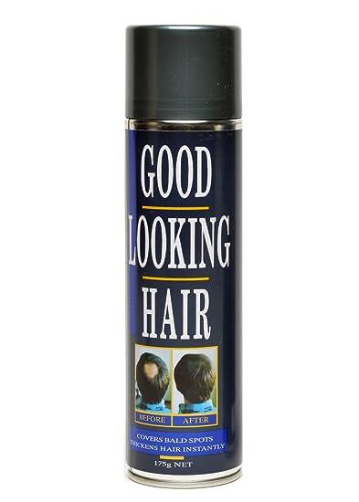 Amazon.com : Good Looking Hair Color Spray (Black) by GLH : Hair ...