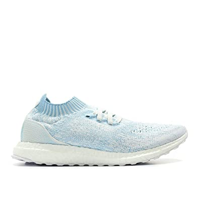 adidas Ultraboost Uncaged Parley Shoe - Men s Running 8 Icey Blue White b2587af2a8843
