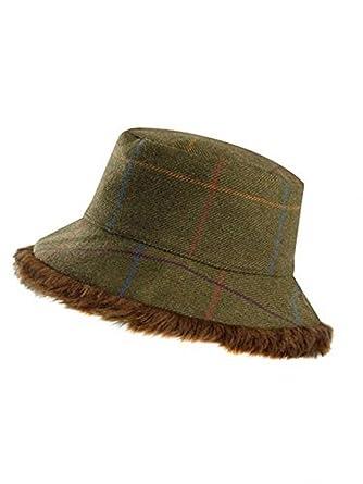 0667aa97e Jack Murphy Ladies Tilly Tweed Hat Northumberland Tweed: Amazon.co ...
