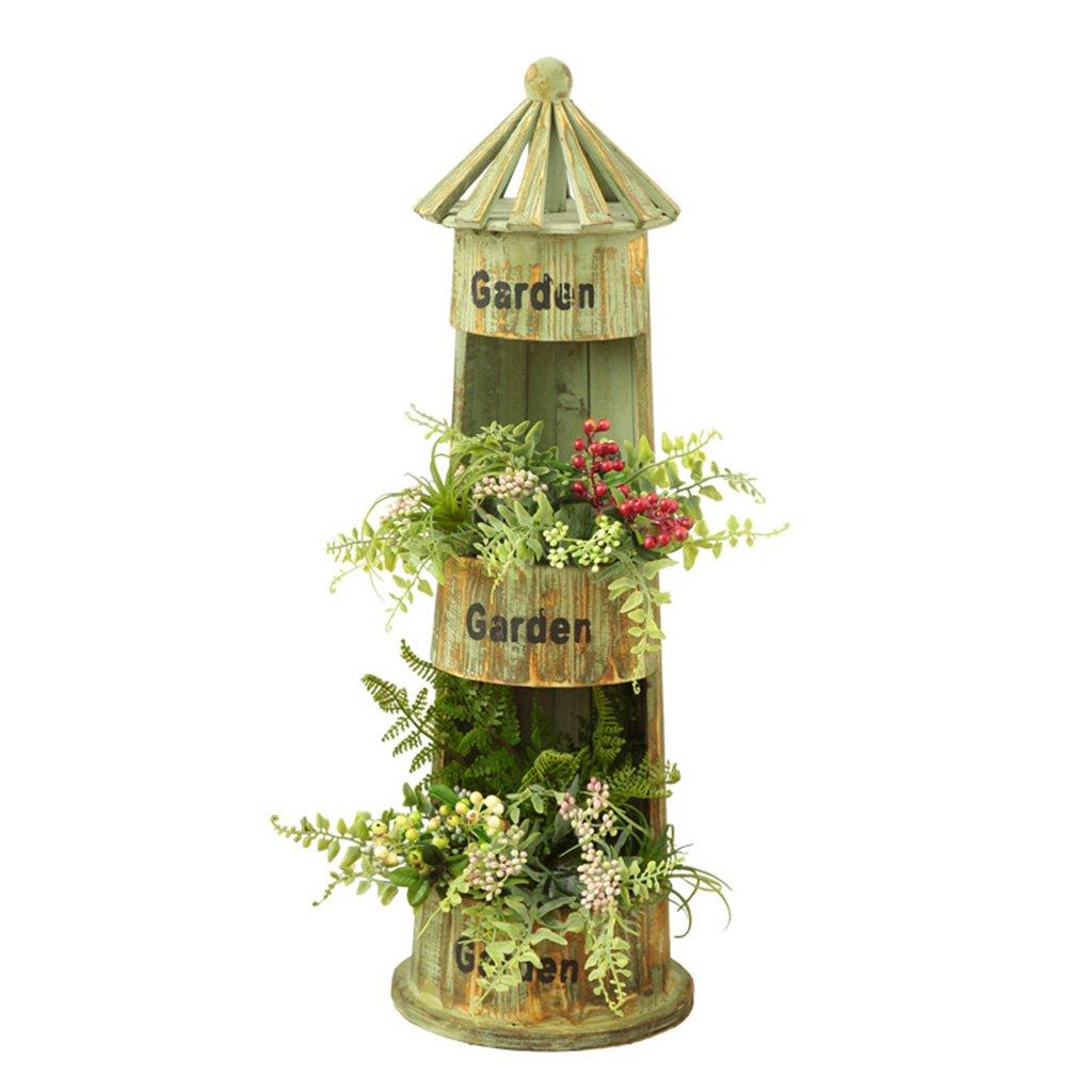 Everyday Home American Country Garden Ornaments Vintage Nostalgic Woodware Negozio di Articoli per la Scuola Materna