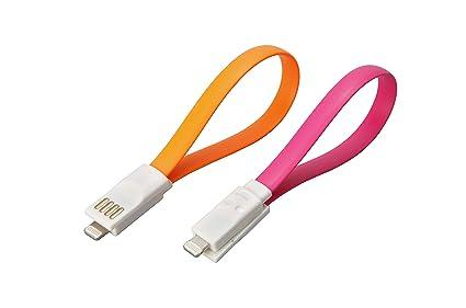 Unitec 77122 de carga y cable de datos con conectores USB y ...