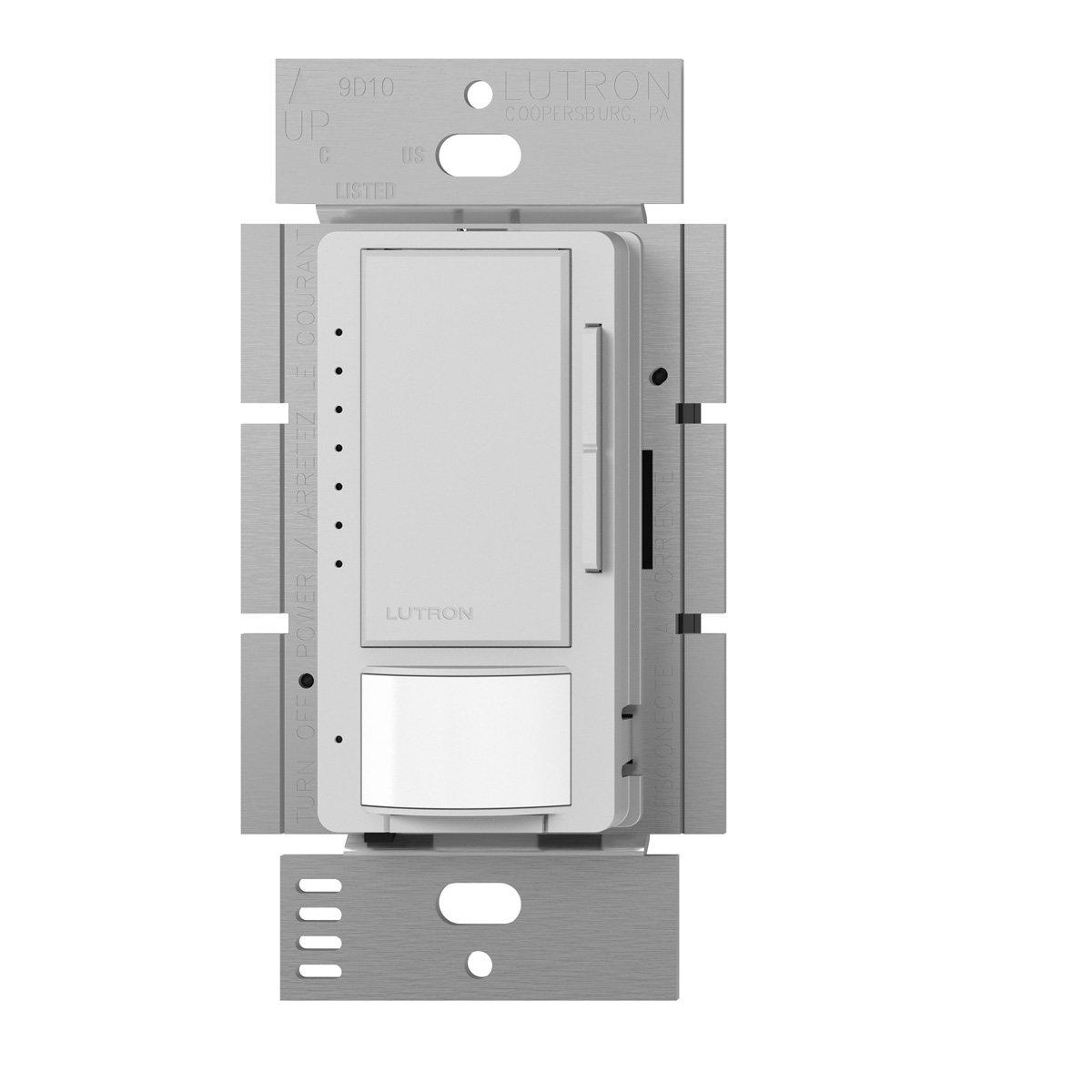 (Palladium) - Lutron MSCL-VP153M-PD Maestro CL Single Pole Multi Location Vacancy Sensing Dimmer, Palladium B00FQL2BX2 Palladium Palladium