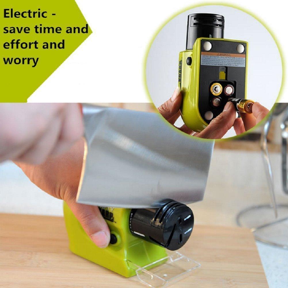 Multi-functional Kitchen Electric Knife Sharpener, Multi-Function Home Kitchen Tool ElecTric Grinding Electric Sharpener for Kitchen Knife/scissors/Fruit knife.