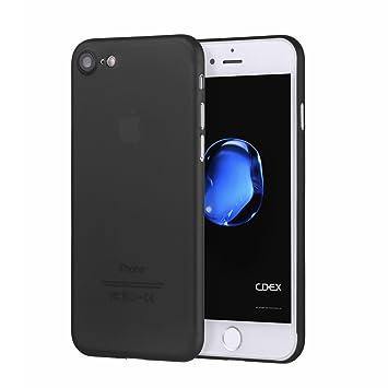 1a71064f01d doupi UltraSlim Funda para iPhone 8/7 (4,7 Pulgadas), Finamente Estera  Ligero Estuche Protección, Negro: Amazon.es: Electrónica