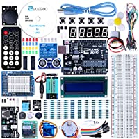 Elegoo EL-KIT-003 UNO Project Super Starter Kit con tutorial para Arduino