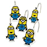 Despicable Me Minions 12 Piece Shower Curtain Hooks by Universal