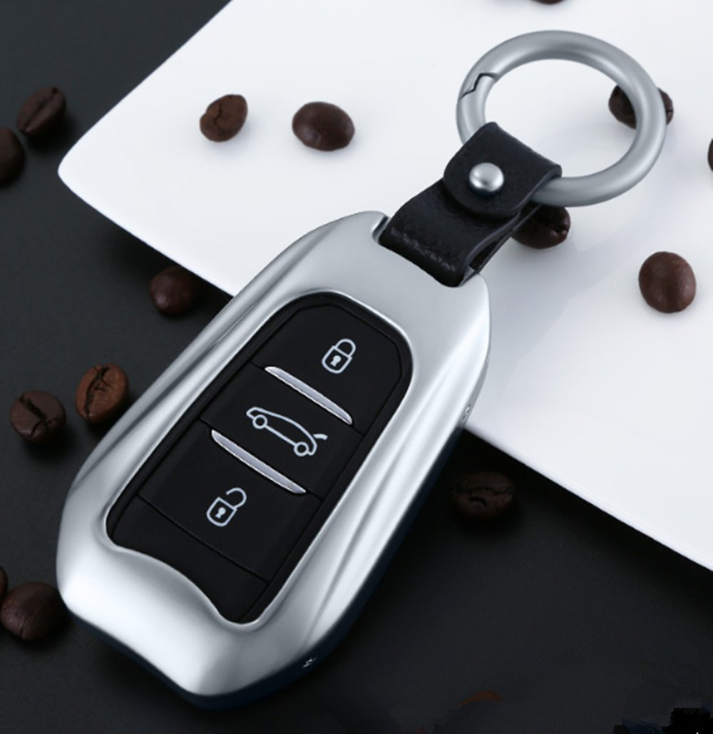 YUWATON Funda para llave de coche Peugeot 4008 308 508 ...