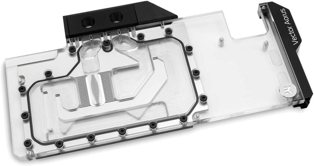 EKWB EK-Quantum Vector Aorus RTX 2080 Ti GPU Waterblock, Digital RGB, Nickel/Plexi