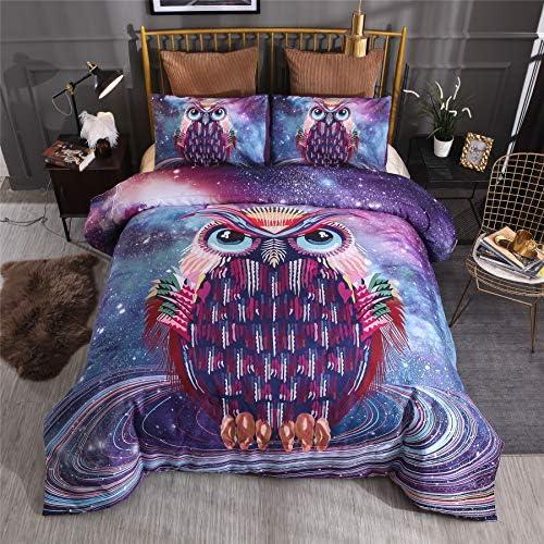 Nice Night Comforter Matching Galaxy Owl