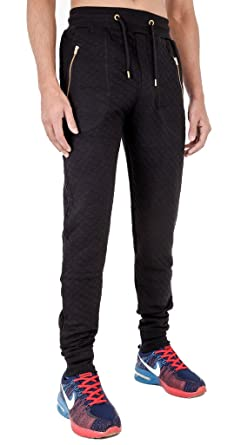 Mens Quilted Skinny Fit Sweatpants at Amazon Men's Clothing store: : mens quilted pants - Adamdwight.com