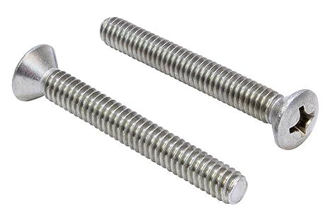 Pan Phillips Drive Full Thread 18-8 AISI 304 Stainless Steel Machine Screws 5//16-18 X 3//4 20pcs