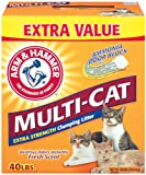 Arm and Hammer Multi-Cat Strength Clumping Litter, 40-Pound, My Pet Supplies
