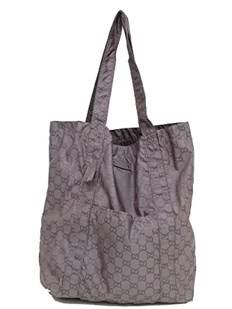 save off 5388a 2ee75 Amazon | GUCCI(グッチ) 折り畳みエコバッグ/トート 223669 紫 ...