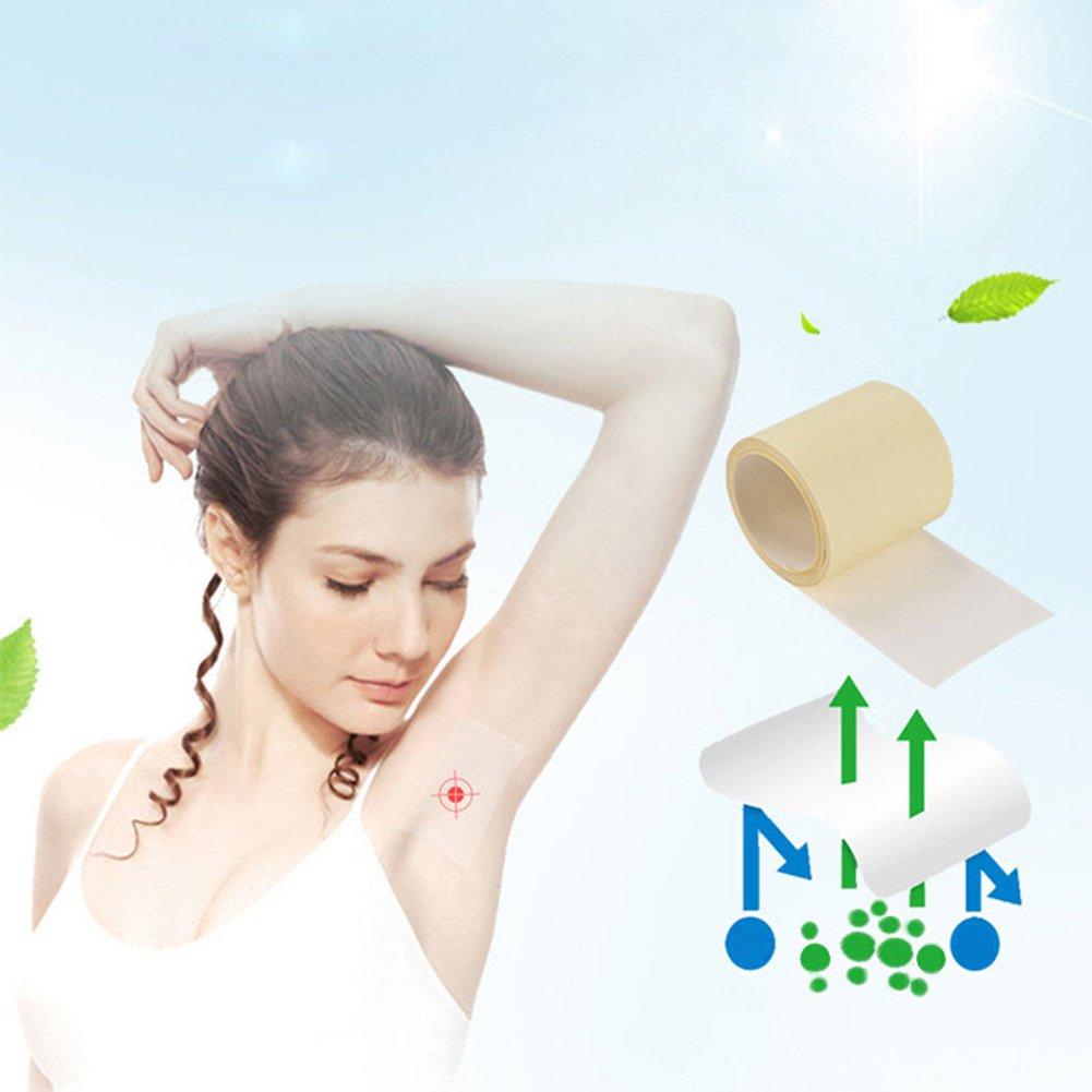 Zantec 6 M/1 Roll Unisex Ascellare Felpe Sudore Sottile traspirante Imbottitura Traspirante Deodorante Antitraspirante