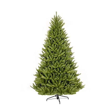 Puleo International 7-Foot Fraser Fir Artificial Christmas Tree, 7 Ft, No  Lights - Amazon.com: Puleo International 7-Foot Fraser Fir Artificial