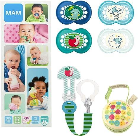 MAM Essential Soothing Set, juego de regalos para bebés de +6 ...